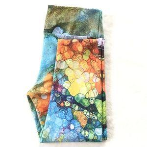 🌟Host Pick🌟 Artsy printed high rise leggings
